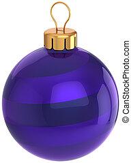 anno nuovo, fronzolo, palla natale, blu