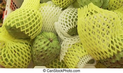 Annona squamosa sold in supermarket - Annona squamosa sold...
