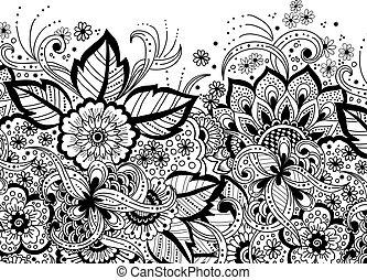 annonce, ethnique, oriental, ornement, ornament., pattern., texture, invitation, élégant, arabe, conception, arabesque, backgrounds., mariage, style., template., carte