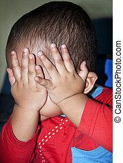 Annoyed Baby Gesture