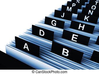 annuaire, bureau, business