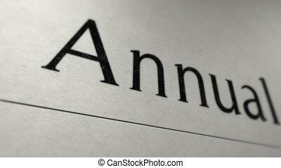 Annual report headline  - Annual report headline
