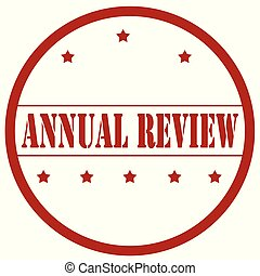 Annual Review-stamp