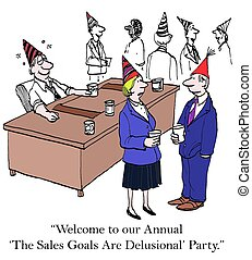 "Annual Sales Goals - ""Welcome to our annual 'The Sales Goals..."
