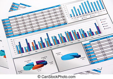 annuale, report., graph., diagram., chart., analisys.