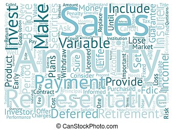 Annuities for Retirees What to Consider Before You Invest text background wordcloud concept