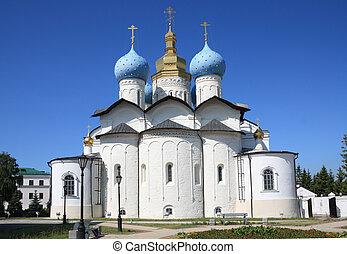 Annunciation Cathedral in Kazan Kremlin , Russia