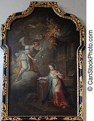 Annunciation of the Virgin Mary, Franciscan Church in Graz, Styria, Austria