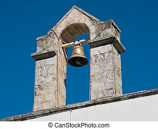 Annunziata Belltower Church. Martina Franca. Apulia.