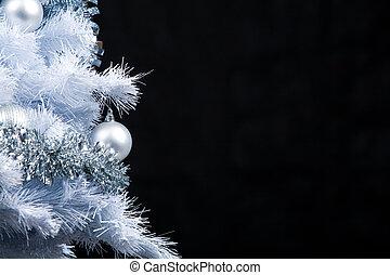 ano novo, árvore