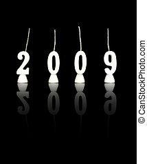 ano, novo, 2, -, 2009