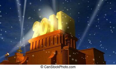 ano novo, 2011, celebração