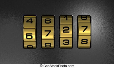 ano novo, 2012, código, fechadura