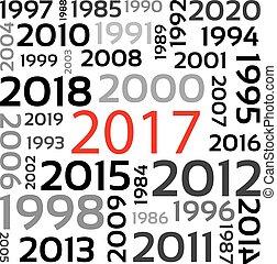 ano novo, 2017