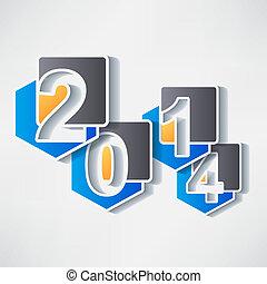 ano novo, criativo, feliz