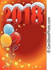 ano novo, decoração