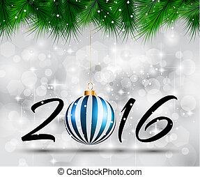 ano novo, fundo, 2016, natal, feliz, feliz