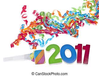ano novo, partido, conceito