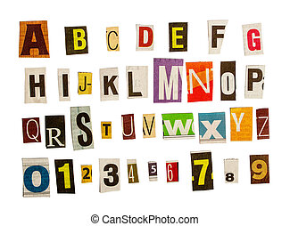 anonimus alphabet cut
