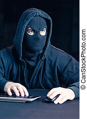 anonym, in, internet
