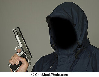 Anonymous Criminal  - Thug with a gun