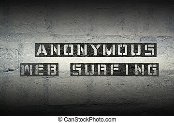 anonymous web surfing