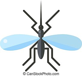 Anopheles mosquito vector illustration. Anopheles mosquito...