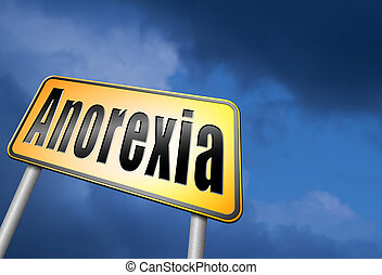 Anorexia nervosa eating disorder
