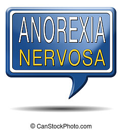 anorexia nervosa eating disorder with under weight as...