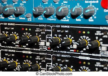 anotação som, (media, equipment), equipamento
