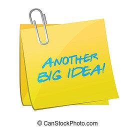 another big idea post illustration design