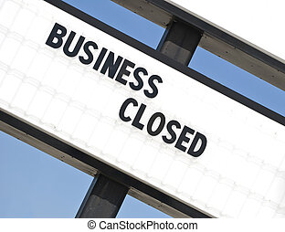 Another Out Of Business Sign