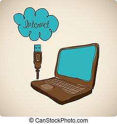 anschluss, internet