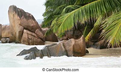 Anse Patates, La Digue, Seychelles - Beautiful beach Anse...