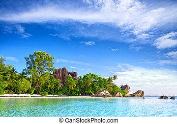 Anse Source d'Argent beach, La Digue, Seyshelles
