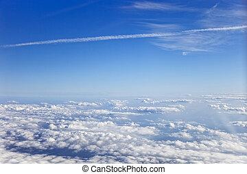 ansicht, wolken