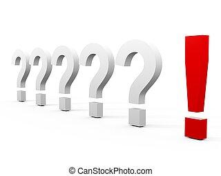 answer?, domanda, ?