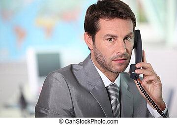 answering, phone