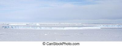 antártica, gelo mar