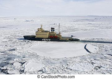 antártica, icebreaker