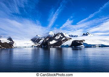 antártica, landsape