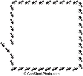 Ant border rectangle frame