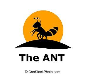 ant logo concept