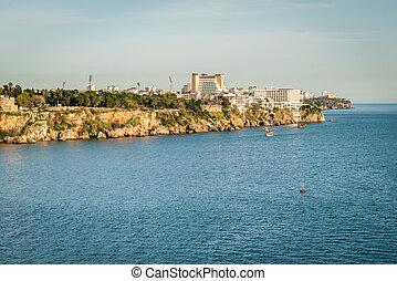 Antalya cityscape in Turkey