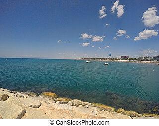 Antalya summer resort beach