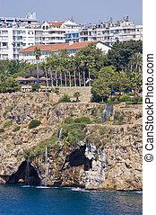 Antalya, the popular touristic destination at Turkey -...