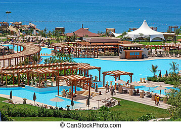 summer luxury resort, Antalya, Turkey