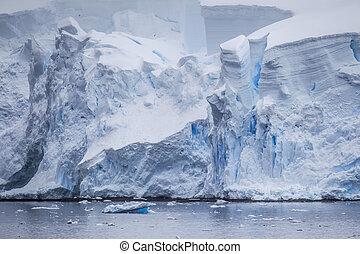 Antarctic Iceberg View