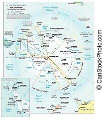 Antarctic Region political division