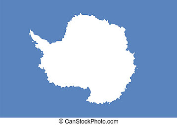 antarctica flag - antarctica continent region unofficial...